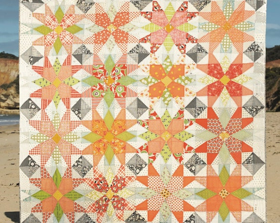 Out on the Patio by Louise Papas - Quilt Pattern