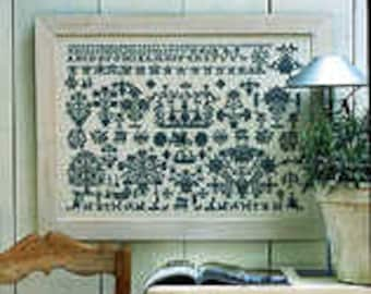 Sampler Kit - Cross Stitch Kit on Linen