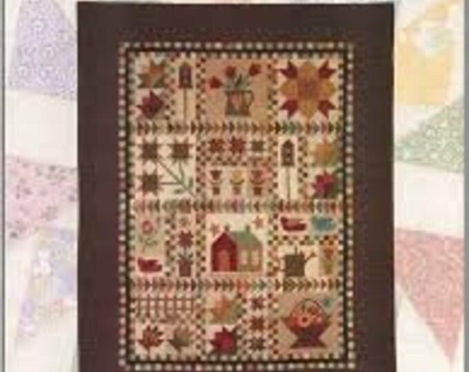 Cottage Garden Sampler - Quilt Pattern