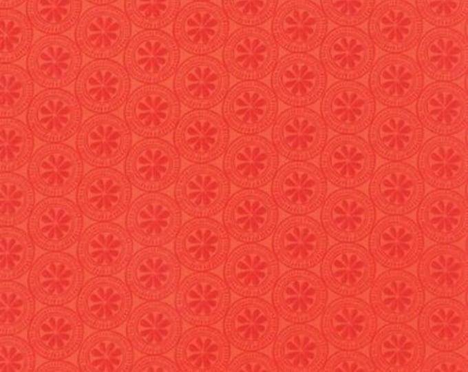 Beach House - Mini Medallion Orange - 1/2 yd