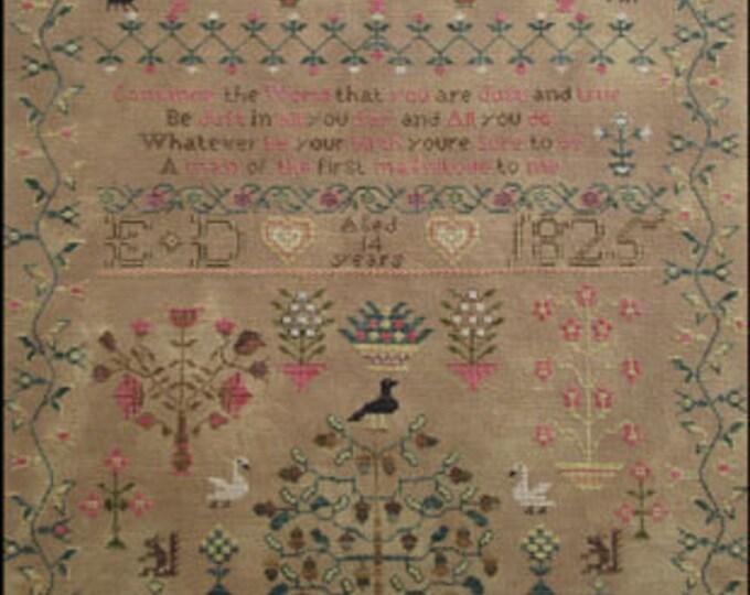 Seven Sheep Sampler - Scarlett House - Cross Stitch Chart
