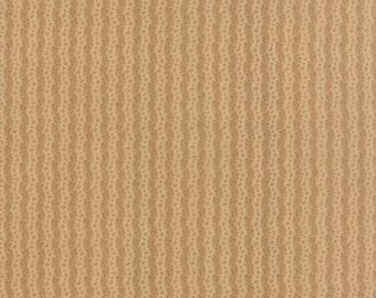 Nurture Waves Tan - 1/2yd