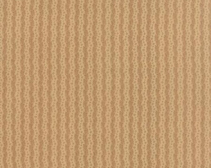 Nurture Waves Tan - 1/2yd