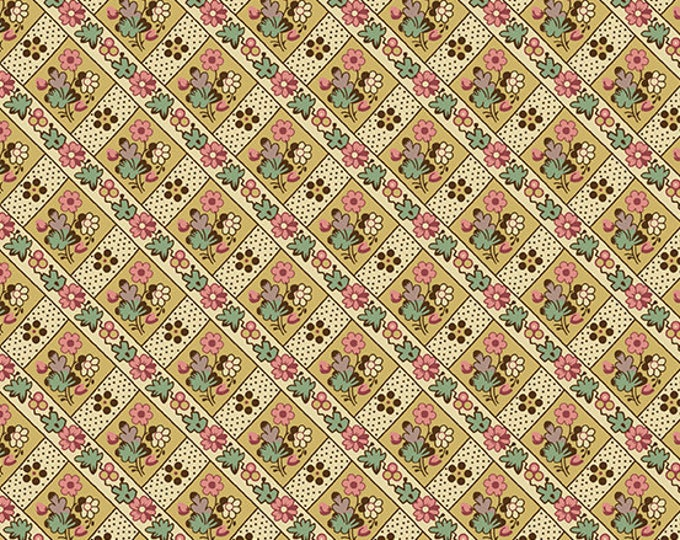 Windermere by Di Ford Hall - Blossom Yellow 8924L - 1/2yd
