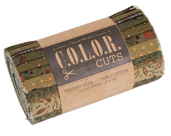 Moda C.O.L.O.R. Cuts - Dessert Cuts - Juniper