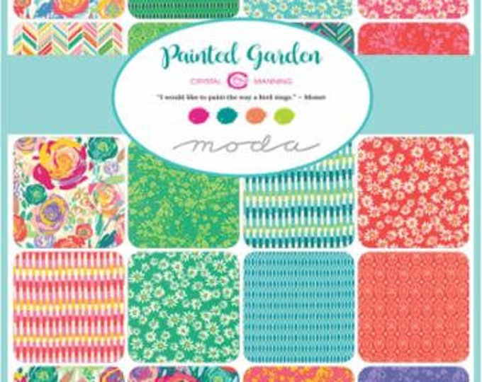Painted Garden by Crystal Manning - Layer Cake