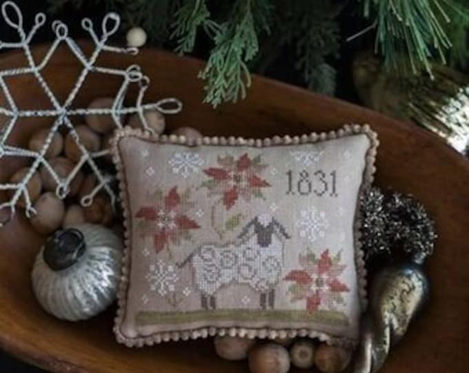 1831 Christmas - Plum Street Samplers - Cross Stitch Chart