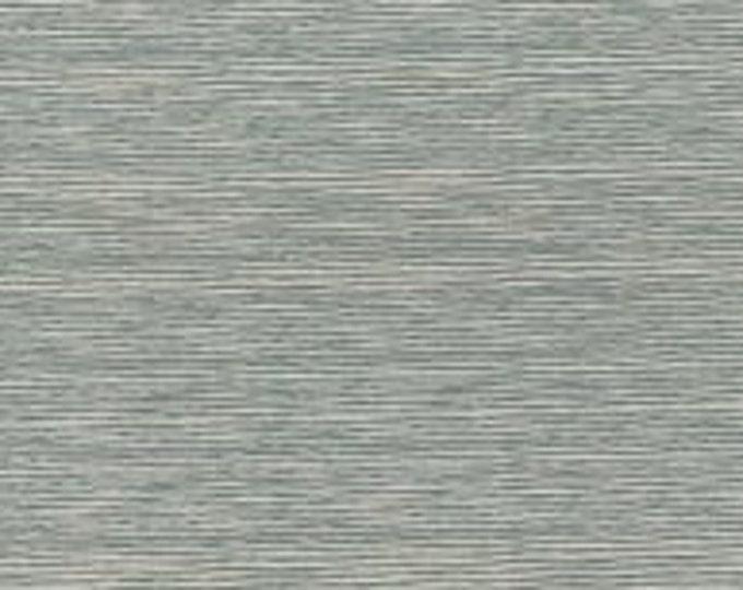 A Wandering Mind - Scribble Stripe - Aqua - 1 yd