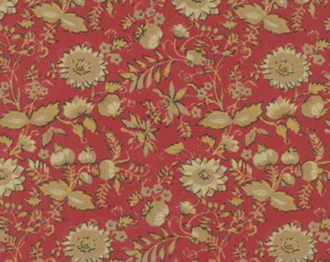 Bon Voyage - Floral Rouge 1/2yd