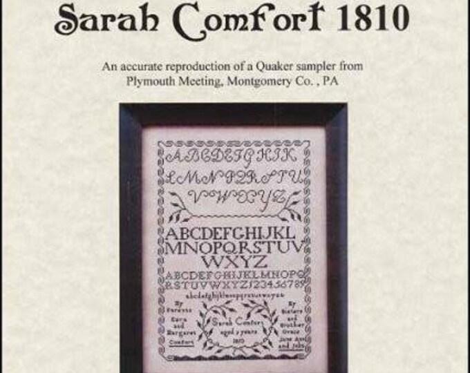 Sarah Comfort 1810 - Queenstown Sampler Designs - Cross Stitch Chart