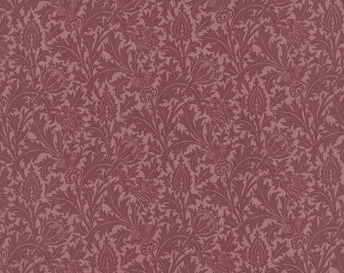 Morris Earthly Paradise Thistle Wine - 1/2yd