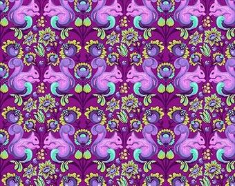 Tula Pink All Stars - PWTP028 Foxglove Squirrel - 1/2yd
