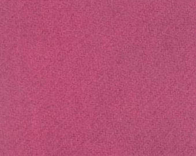 Moda 100% Wool Magenta 5481045 - 1/2 yd x 54 inches