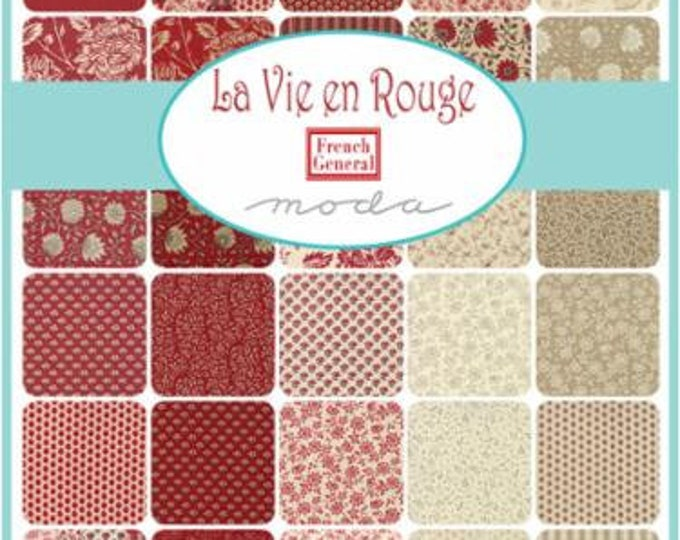 La Vie en Rouge by French General - Layer Cake