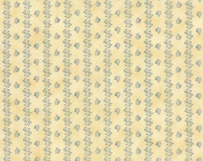 Nurture Shirting Stripe Aqua - 1/2yd