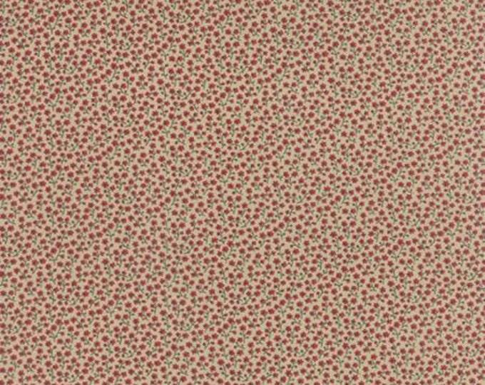 Bon Voyage - Petite Fleur Rouge 1/2yd