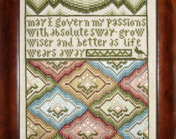 As Life Wears Away - Carriage House Samplings - Cross Stitch Chart