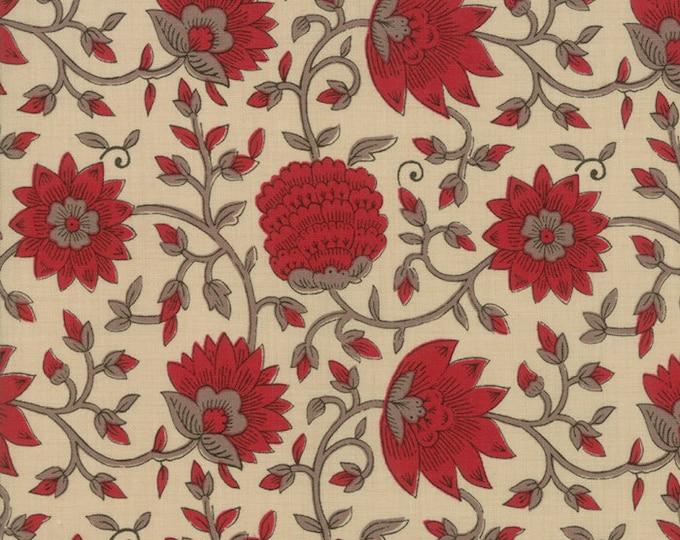 La VIe en Rouge - L'Amour Pearl 1382216 - 1/2yd