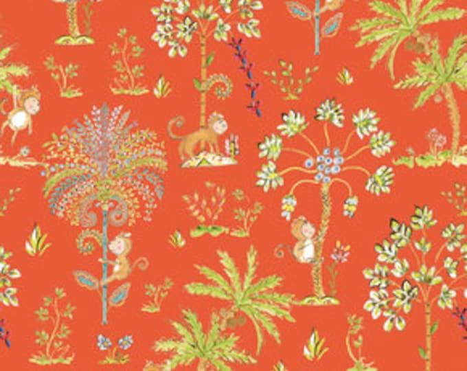 Sundara Oasis Lalika Orange - 1/2yd