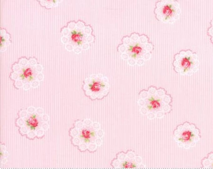 Caroline -  Daily Roses Pink 1865213 - 1/2yd