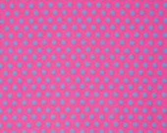Kaffe Fassett Collective Spot Shocking Pink - 1/2yd
