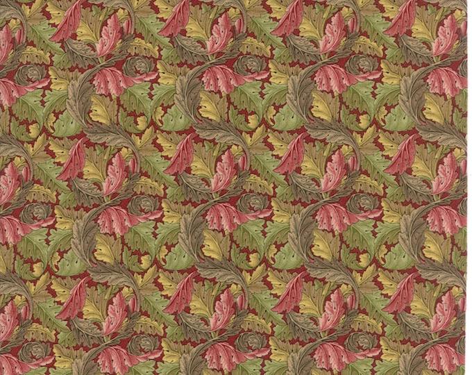 William Morris Acanthus 1875 Garnet 730414 - 1/2yd