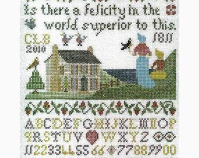 Felicity - The Stitching Parlor - Cross Stitch Chart