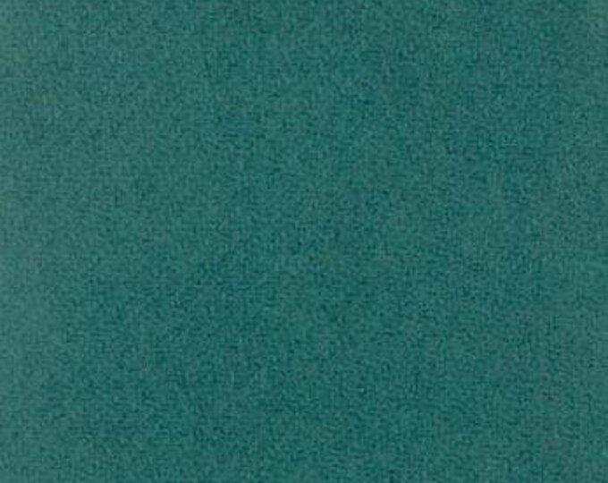 Moda 100% Wool Dark Teal  5481041 - 1/2 yd x 54 inches