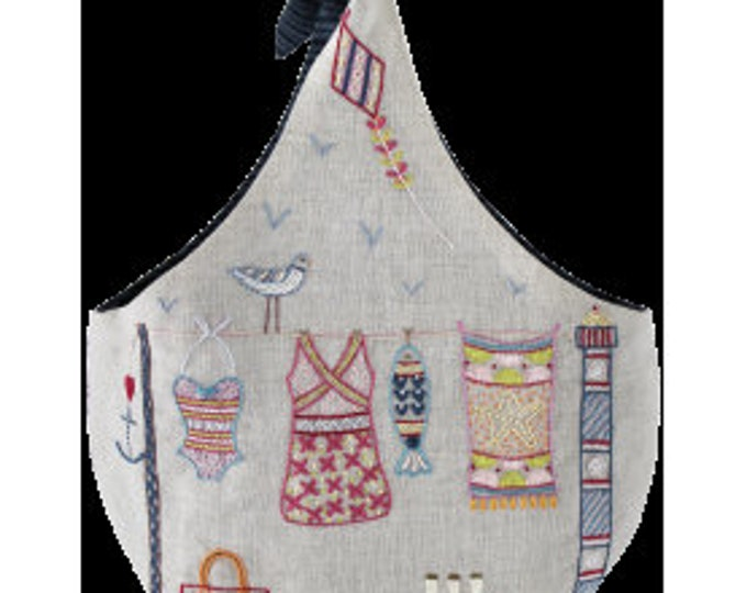 Summer Clothespin Sac - Embroidery Kit - Une Chat dans l'Aiguille
