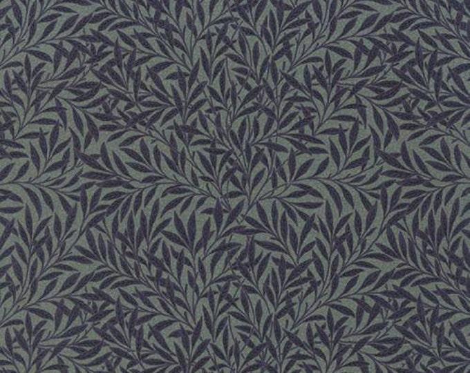 Morris Earthly Paradise Willow Aquamarine - 1/2yd