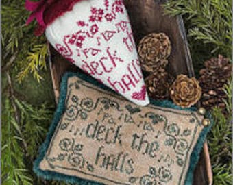 Deck the Halls - Caroling Berries by Erica Michaels - Chart