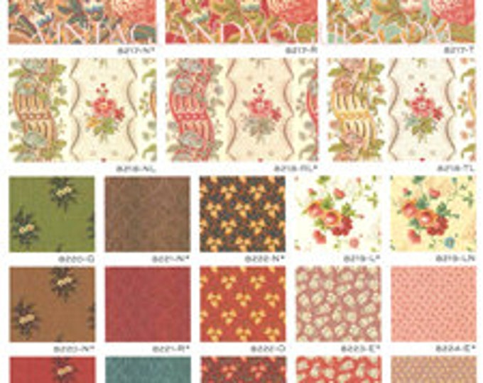 Gigglewick Mill by Di Ford -  25 x 1/4yd bundle