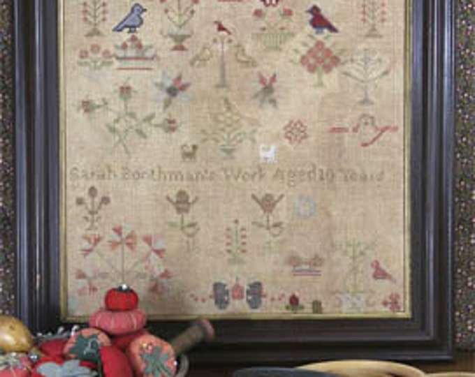 Sarah Boothman 1845 by Heartstring Samplery - Chart Only