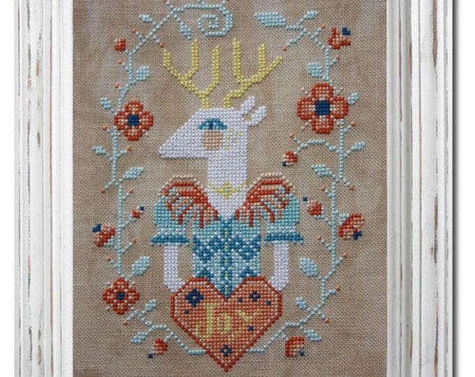 Deer Joy - Barbara Ana Designs - Cross Stitch Chart