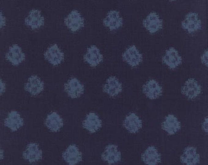Indigo - Ikat Denim M3290215 - 1/2yd