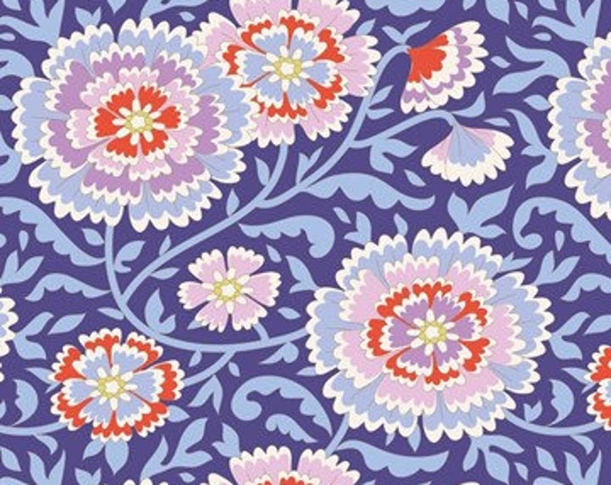 TILDA Bird Pond Elodie Lilac Blue 100082