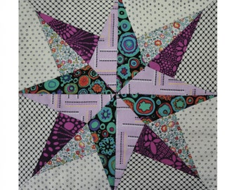 North Star - Tempter by Jen Kingwell - Templates