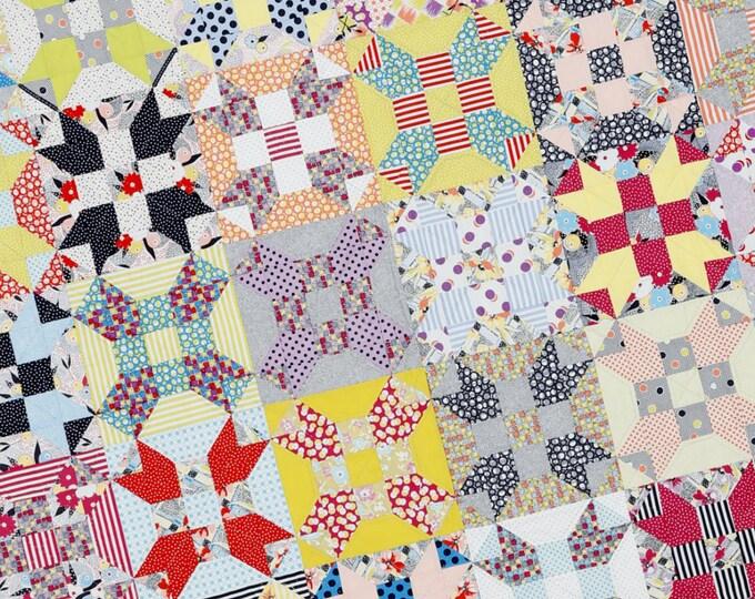 Gardenvale Stars by Jen Kingwell - Quilt Pattern