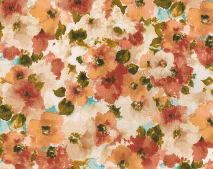 London Calling Lawn 6 - Floral Harvest - 1/2 yard