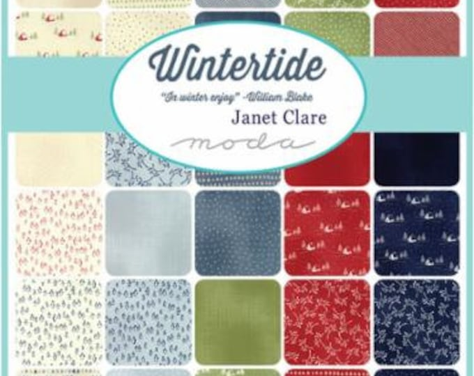 Wintertide by Janet Clare - 31 x F8 Bundle