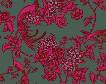 Florence Broadhurst Romantic Rebel L01401-1 - 1/2yd