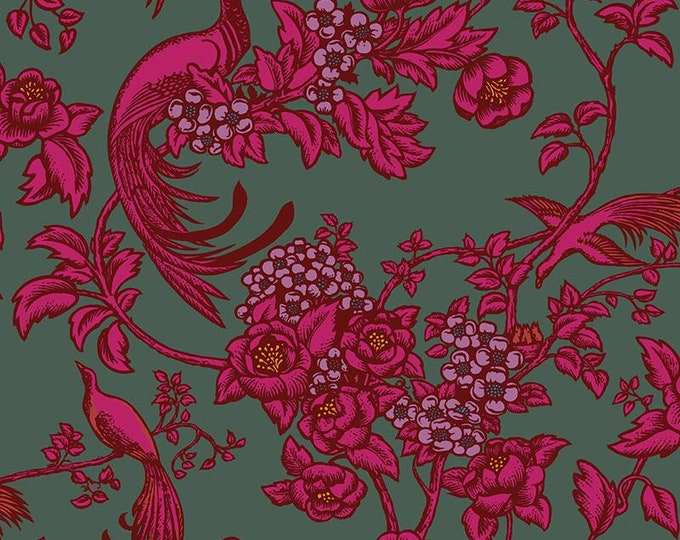 Florence Broadhurst Romantic Rebel L01401-1 - 1/2yd