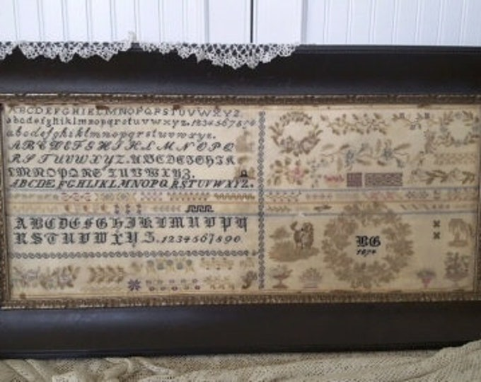 BG 1874 - Samplers Not Forgotten - Cross Stitch Chart