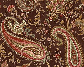 Pheasant Run  - Paisley Brown - 1  yard