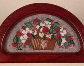 Vintage Floral Basket and Frame Kit