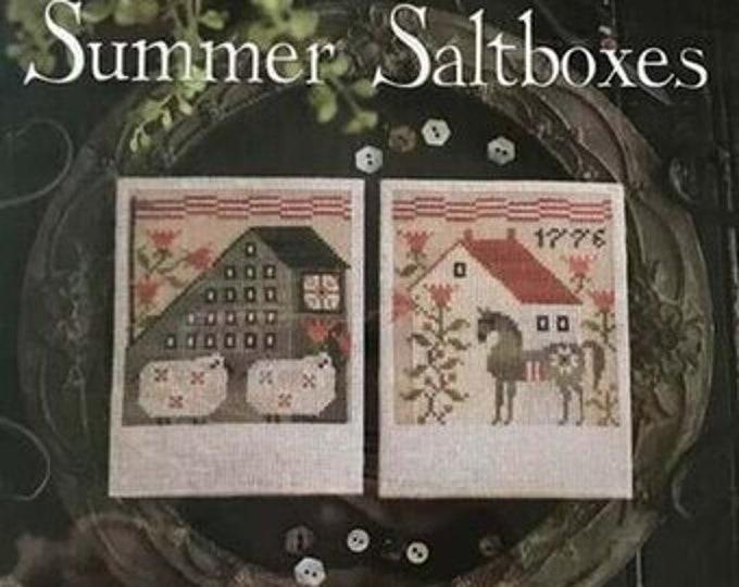 The Salt Shakers - Plum Street Samplers - Cross Stitch Chart