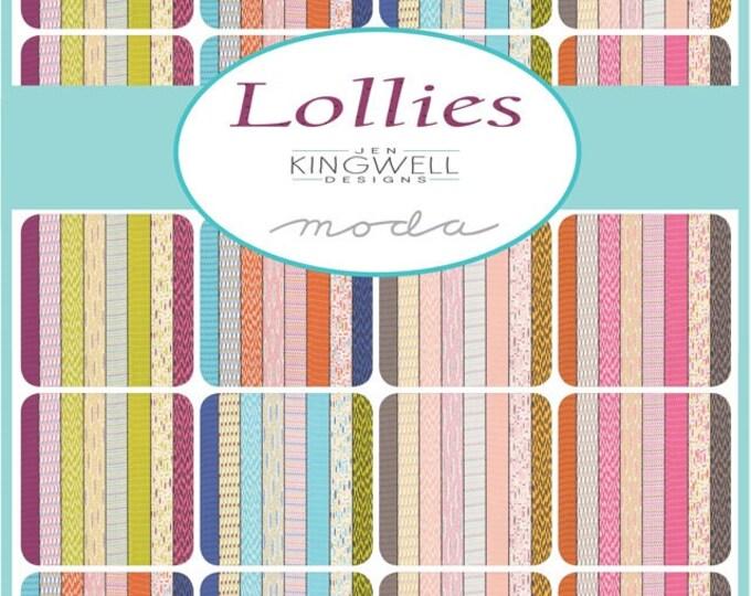 Lollies by Jen Kingwell - Luna Pink Ginger 1812015 - 1/2yd