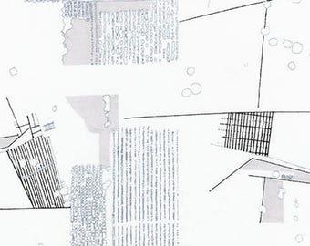 Friedlander Lawn - Titanium - 1/2yd