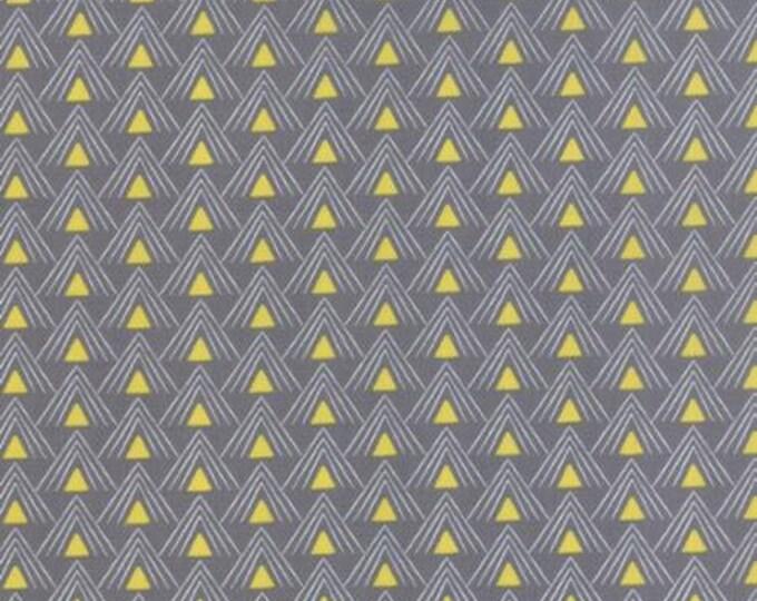 Chic Neutrals Curio Steel Yellow - 1/2yd