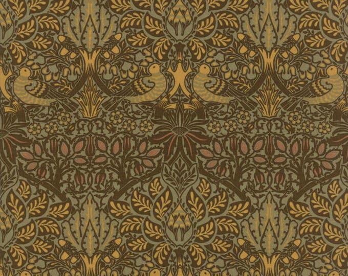 William Morris Dove Rose 1879 Sepia 730113 - 1/2yd